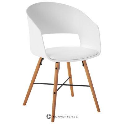 Бело-коричневый дизайнерский стул (interstil dänemark)