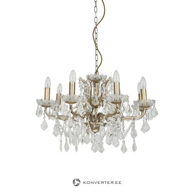 Golden chandelier paris (searchlight) (boxed, whole)