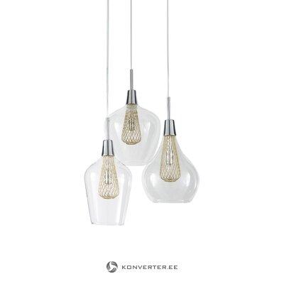 Caurspīdīgs piekaramais gaismas filo (nova luce)