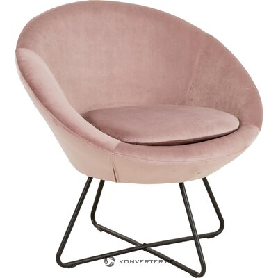 Rozā krēsls altrosa (actona) (vesels)