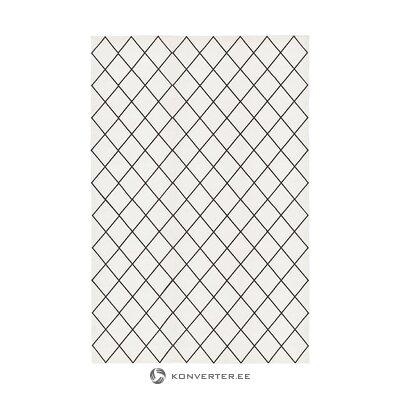 Valkoinen-musta matto (farah) (nainen)