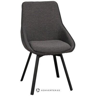 Harmaa pehmeä tuoli (rowico)
