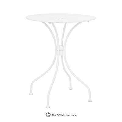 White small garden table (bizzotto) (whole, in a box)