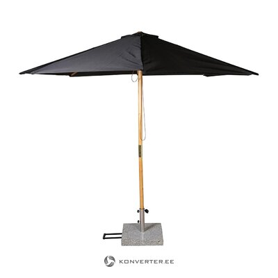 Black-brown parasol (venture design) (whole, in box)