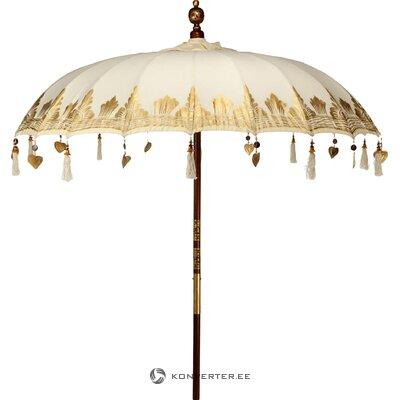 Beige päivänvarjo itämainen lounge (hovimestarit)