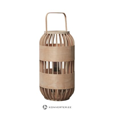 Wooden lantern (d & m depot) (whole, hall sample)