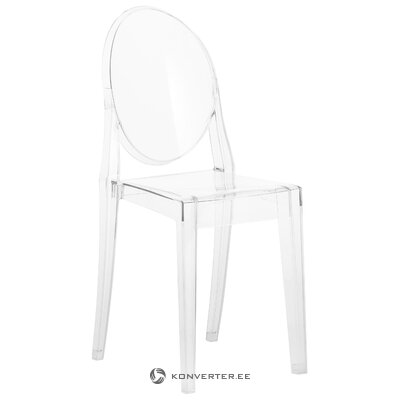 Transparent chair ghost (cartel) (whole, in a box)