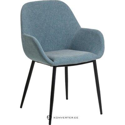 Blue soft armchair kona (la forma)