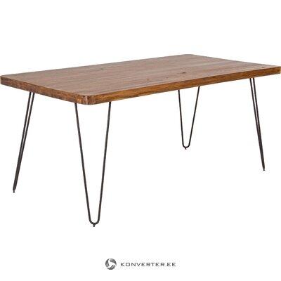Massiivipuinen ruokapöytä Edgar (Bizzotto)