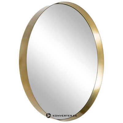 Gold framed wall mirror (hd collection) (whole, hall sample)
