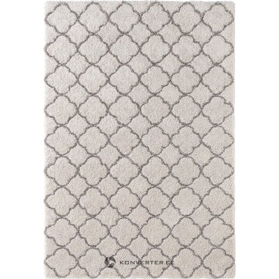 Harmaa kuviollinen matto luna (minttumatot)
