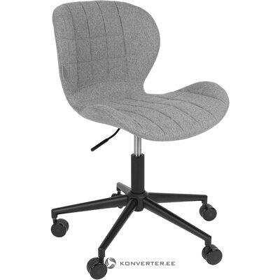 Pilka biuro kėdė omg (zuiver) (visa, salės pavyzdys)