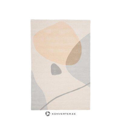 Harmaa marmori jäljitelmä sohvapöytä (lesley) (koko, sali näyte)