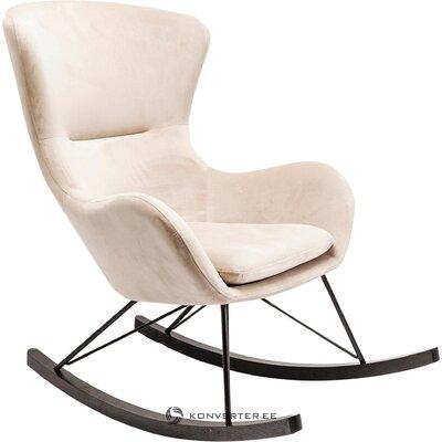 Kermainen nojatuoli oslo (karkea muotoilu) (puutteilla, hallinäyte)