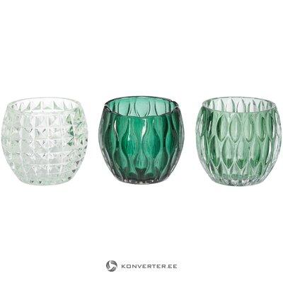 Tējas sveču turētāji 3 gab aliza (boltze)