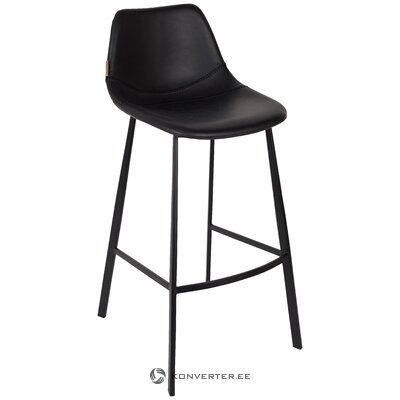 Black bar stool (dutchbone) (whole)