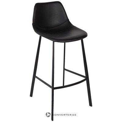 Melns bāra krēsls (holandiešu kauls) (vesels)