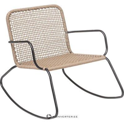 Rotangpalmas dārza šūpuļkrēsls Mundo (Bloomingville)