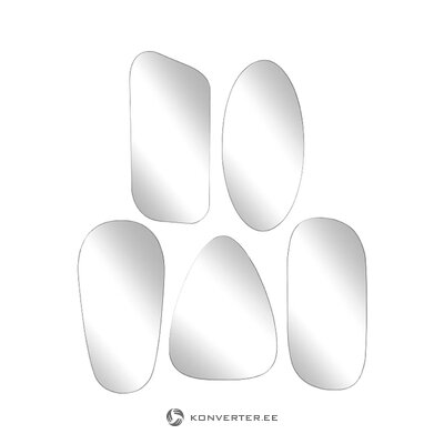 Set of wall mirrors 5-piece (copenhagen) (whole, in box)