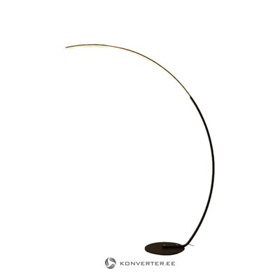 White-gold table lamp (anderson) (with flaws., Hall sample)