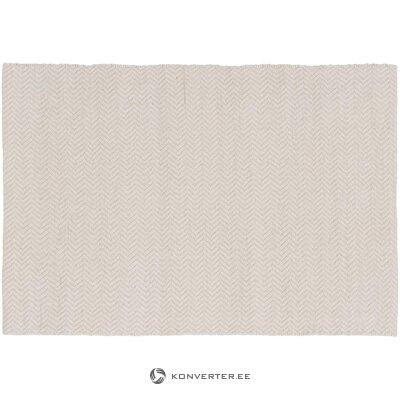 Beige patterned rug (jella & jorg)