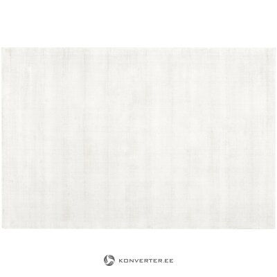 White viscose carpet (jane) (in box, whole)