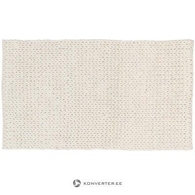Baltas vilnos kilimas (jella & jorg) (dėžutėje, visas)