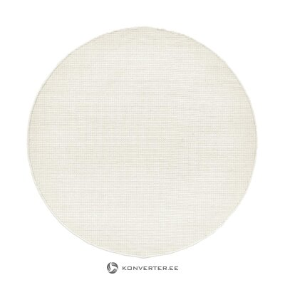 White round carpet (amaro) (in box, whole)