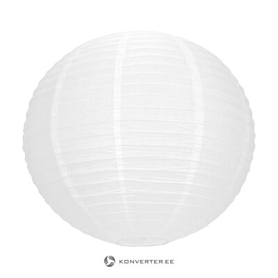 Valkoinen japanilainen lyhty (tim & puce factory) (laatikossa, koko)