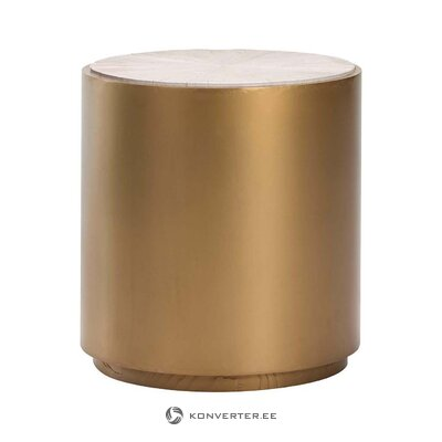 Golden and white coffee table (thai natura) (in box, whole)