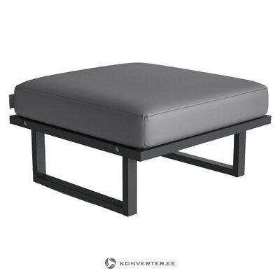 Gray garden bench (bench and berg) (whole, in box)