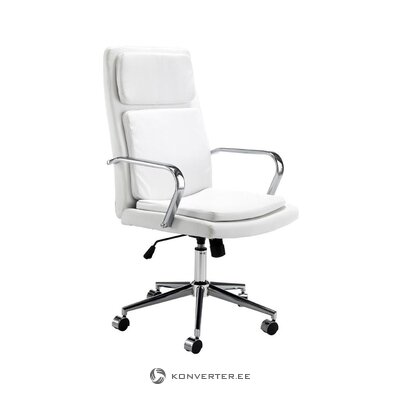 White and silver office chair (tomasucci) (in box, whole)