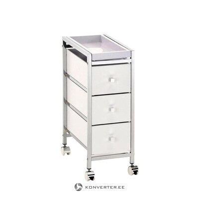 Melns un sudraba biroja krēsls (tomasucci) (vesels, kastē)