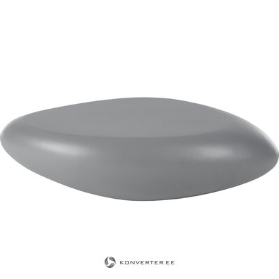 Black marble imitation coffee table (antigua) (in a box)