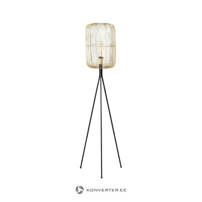 Black-gold floor lamp (boltze) (with defects ,, hall sample)