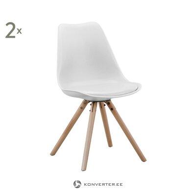Baltbrūns krēsls (bdexx) (vesels)