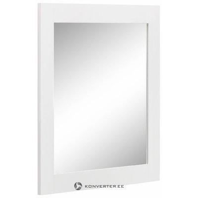 Леон зеркало - белый
