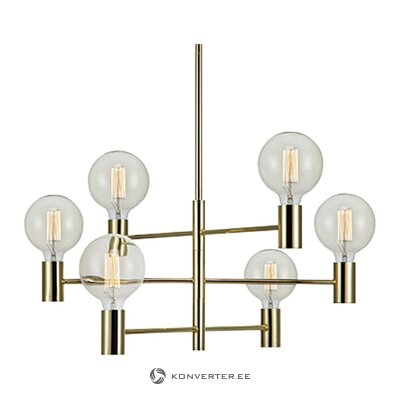 Golden pendant light (markslöjd) (whole, in box)