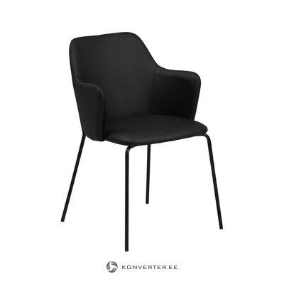 Musta tuoli (tradestone) (laatikossa, koko)