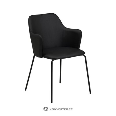 Melns krēsls (tradestone) (kastē, vesels)