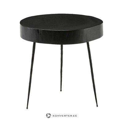 Melns kafijas galdiņš (taju natura) (ar defektiem., Hall paraugs)