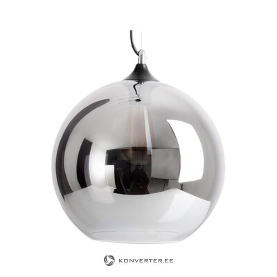 Glass pendant light (face) (whole, in box)