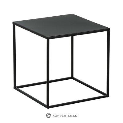 Musta metallinen sohvapöytä (stina) (kokonainen, laatikossa)