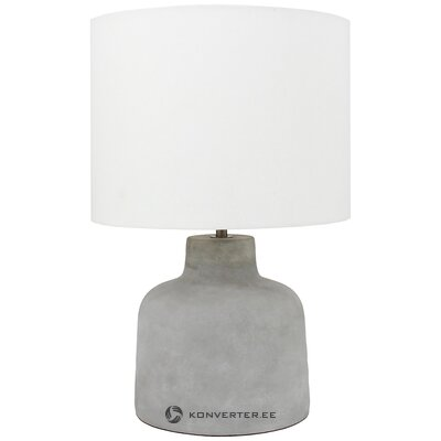 Gray-white table lamp (yoke) (in the box)
