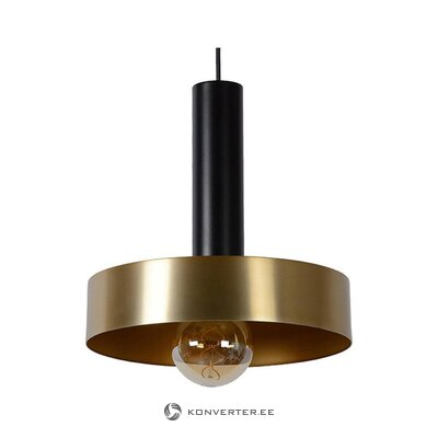 Black-gold pendant light (lucide) (box, whole)