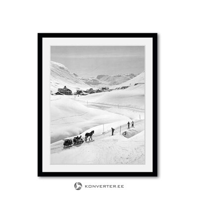 Gray marble coffee table (temahome) (whole, in a box)