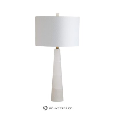 White table lamp (safavieh) (sample of the hall)