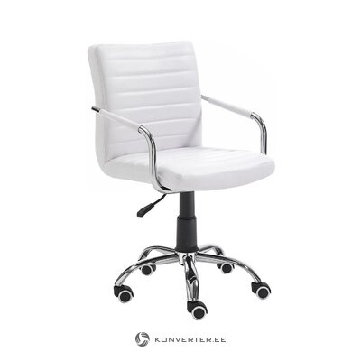 White office chair (tomasucci) (hall sample, with flaw,)
