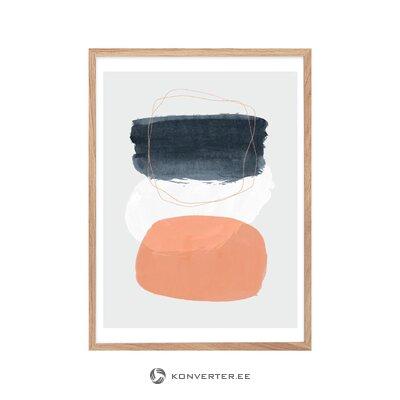 Melns krēslu flakons (soliņš un bergs) (kastē, vesels)
