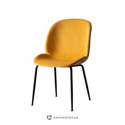 Light green velvet sofa (fluente) (with imperfections, hall sample)
